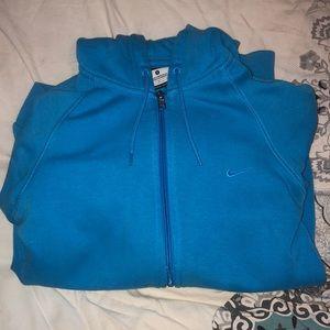 Hooded Nike Zip up